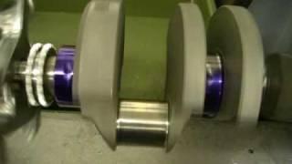 Crankshaft grinding Eagle 4340 Forged SBC Crank