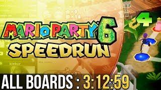 [WR] Mario Party 6 All Boards Speedrun in 3:12:59 (Weak)