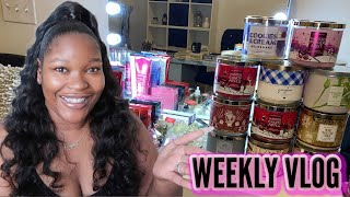 Weekly Vlog #42: We Finally Made It! Welcome 2021 + HUGE Bath and Body Works Haul+New Hair!   C&C TV