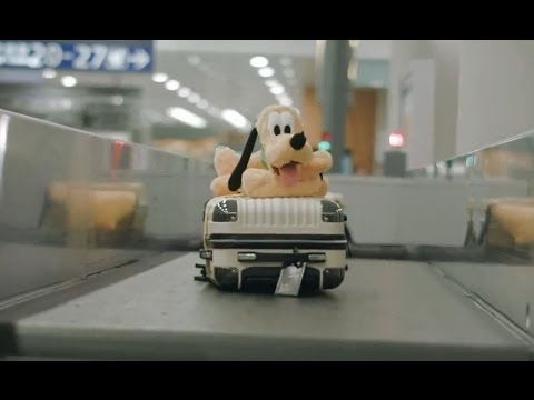 Disneyland's flash mob style surprise for travellers at Shanghai Airport | SamDecaux