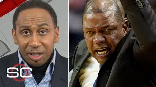 stephen-defends-doc-rivers-ejection-clippers-rockets-sportscenter