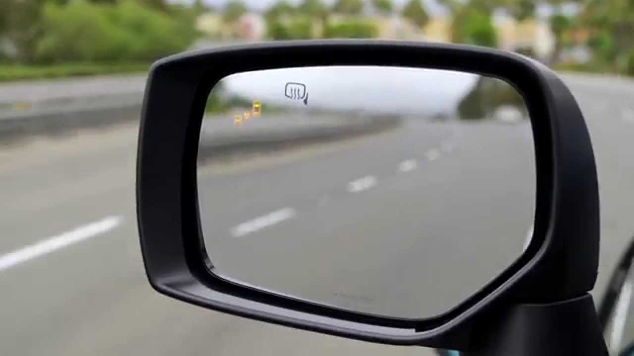 Subaru Safety Technology – Blind-Spot Detection with Lane ...
