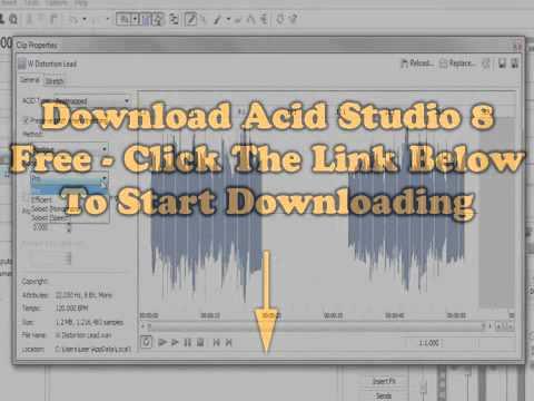 Download Acid Music Studio 8 Free