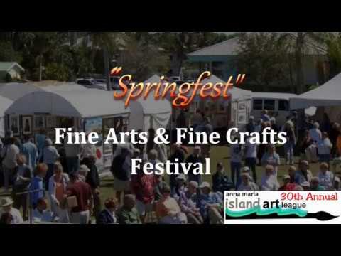 Anna Maria Island Art League Springfest Festival March 10 & 11 2018