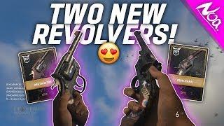 TWO NEW COD WW2 REVOLVER PISTOLS! - Enfield No. 2 Obstructor & Reichsrevolver Iron Hand Gameplay!
