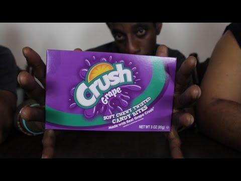We Try Crush Grape Candy Bites