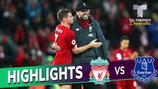 Liverpool vs. Everton 5-2 Goals & Highlights | Premier League | Telemundo Deportes