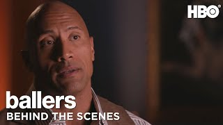 A Second Shot with Dwayne Johnson John David Washington and Evan T Reilly of Ballers HBO
