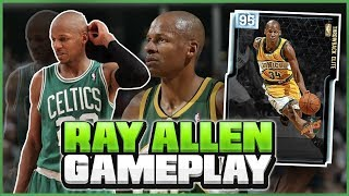 DIAMOND RAY ALLEN IS THE *BEST* SHOOTING GUARD IN THE GAME! UNSTOPPABLE NBA 2K19 MYTEAM GAMEPLAY