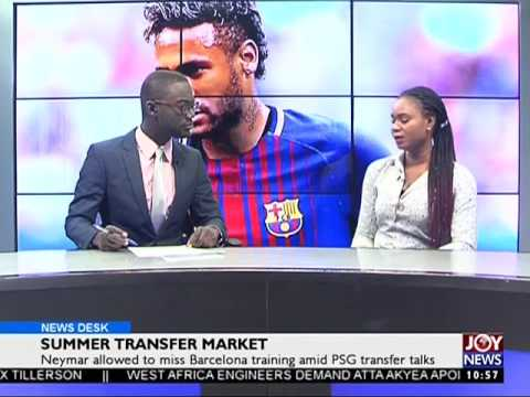 Summer Transfer Market - Sports Desk on Joy News (2-8-17)