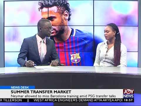 Summer Transfer Market - Sports Desk on Joy News (2-8-17)