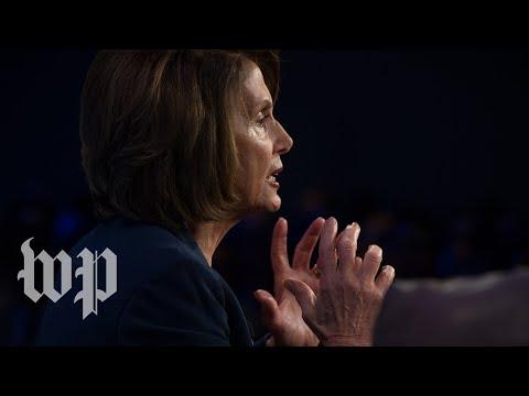 Pelosi speaks on the House floor