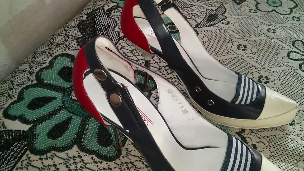 Женские туфли-лодочки. В наличии все размеры - YouTube