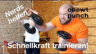 Schnellkraft trainieren / Schneller schlagen / Nerds bei One Two Punch Theorie trifft Praxis!