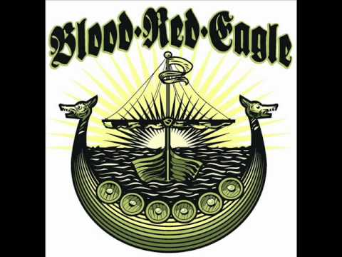 Blood red eagle- this is Viking rock.wmv