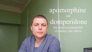 Апоморфин & Домперидоном (риска кардиальных побочных эффектов) Apomorphine and Domperidone