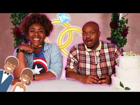 Single People Get Married For A Week • Ryann And Destinee