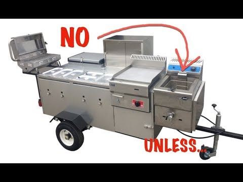 Can I Have A Deep Fryer On My Hot Dog Cart?