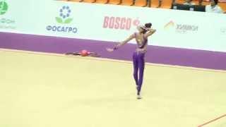Полякова Вероника, мяч, Художественная гимнастика