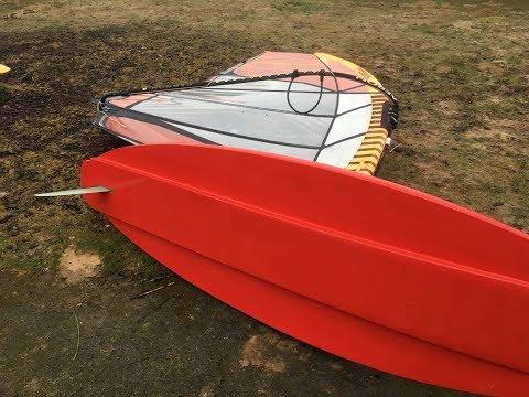 Building an speedneedle/foilboard/windsurfboard in one. DIY