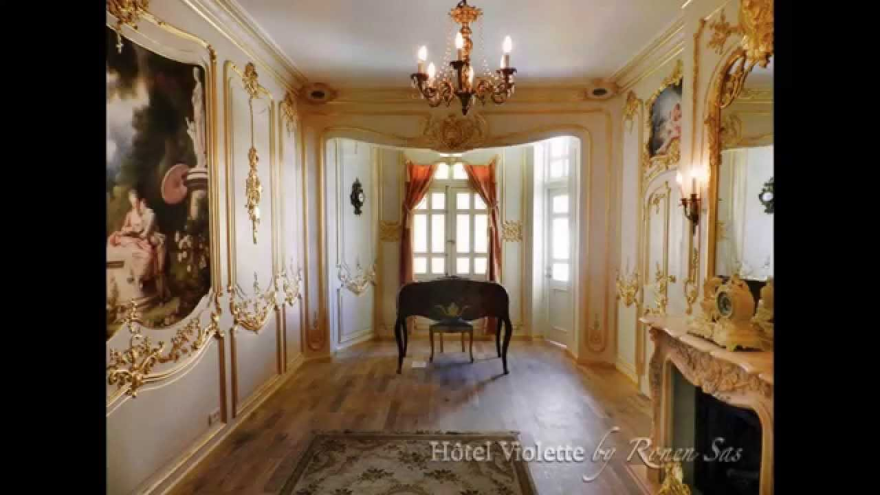 H tel violette the making of a french salon in the louis for Salon louis xv