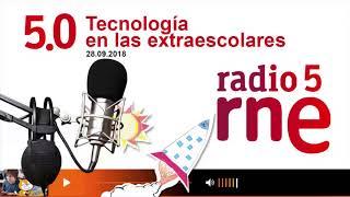#Entrevista to #ConMasFuturo and #Roblox on #RadioNacional Radio 5