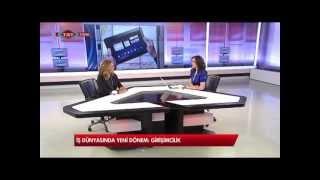 03.01.2013 TRT TÜRK Dünyanın Ekonomisi  - Girişimcilik - Gamze Koca - Ayşe Can Bayraktar