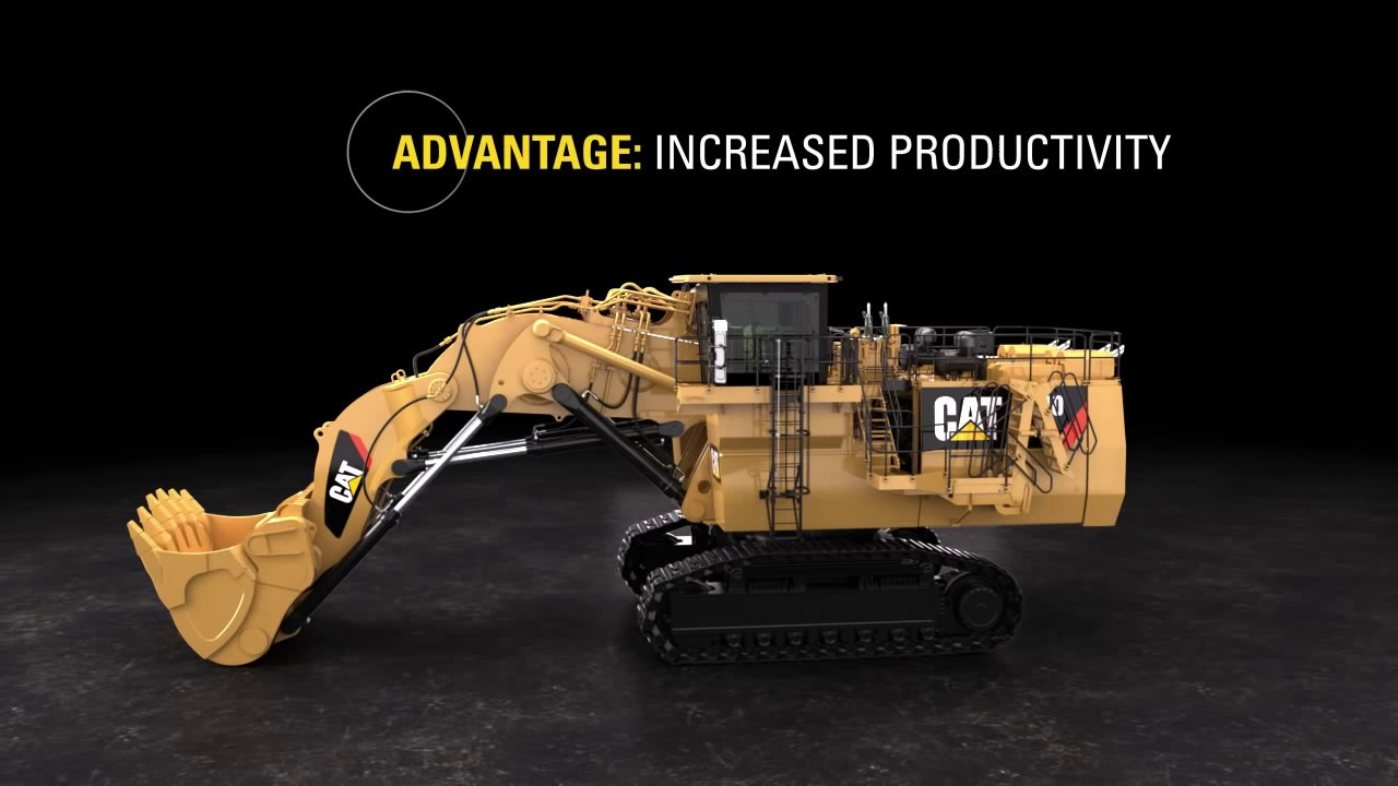 Tripower system for cat hydraulic mining shovels youtube - Mining images hd ...