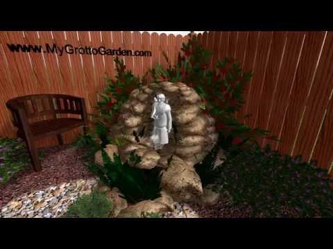 3d Garden Grotto Design