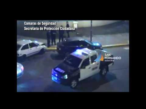 San Fernando   Choque de Autos Acceso Norte