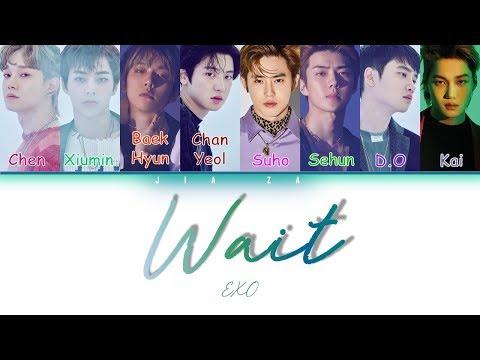 "EXO ""Wait"" (Sub Indo) Lirik {Color Coded-Rom-Ind}"