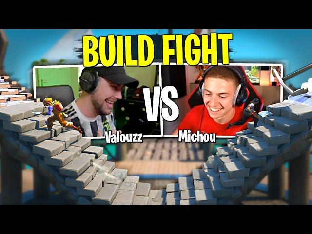 Mon premier Build Fight contre Michou sur Fortnite Créatif !