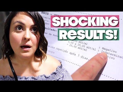 SHOCKING BETA PREGNANCY TEST RESULTS!