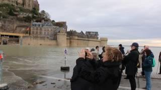 Grande Marée au Mont Saint Michel