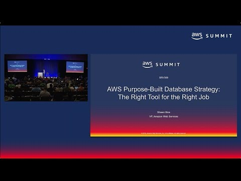 AWS Summit SF 2018: AWS Purpose-Built Database Strategy: The Right Tool for the Right Job (SRV309)