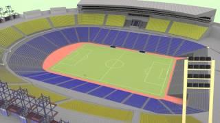 proyecto eliminación pistas de atletismo Estadio de Gran Canaria