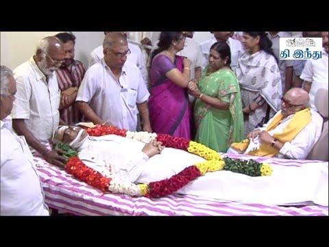 M. Karunanidhi, M.K. Stalin, Vaiko Pays Homage To Balachander