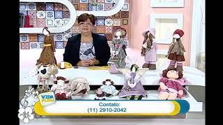 Artesanato – Boneca para peso de porta