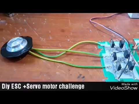 DIY ESC + SERVO TESTER CHALLENGE