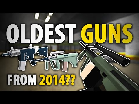 The OLDEST GUNS in Phantom Forces (Made in 2014!)