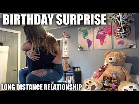 Funny Memes For Long Distance Relationships : Birthday surprise for my girlfriend long distance relationship