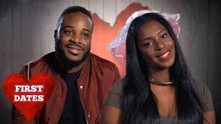 Jonathan & Krystle Are Both Looking For Marriage | First Dates