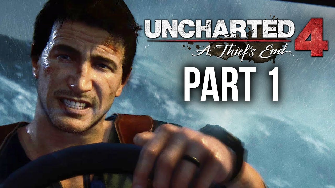 Uncharted 4 Walkthrough Part 1 - INTRO (Chapter 1-3) PS4 ...