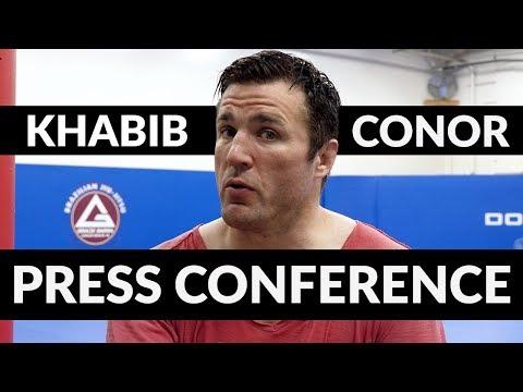 Press Conference Psychology: Conor McGregor vs Khabib Nurmagomedov