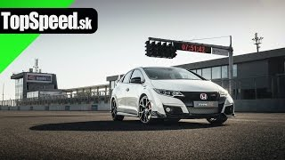 TopSpeed.sk test: Honda Civic Type R 4. gen (9G)