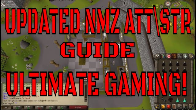 osrs-Complete Nightmare Zone Melee Training Guide updated