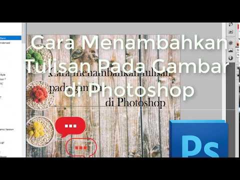 Cara menambahkan tulisan pada gambar di photoshop   Tutorial Galang #1 thumbnail