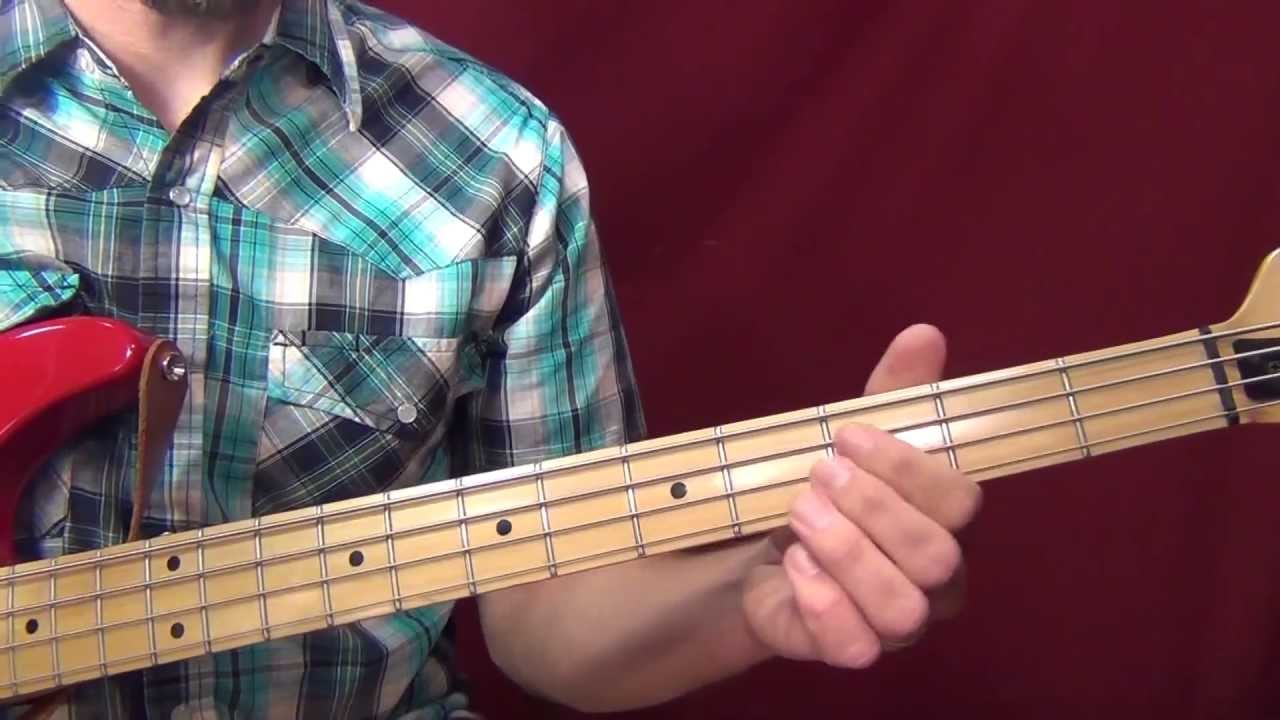 Simple Bass Lines For Some C Major Chord Progressions Youtube