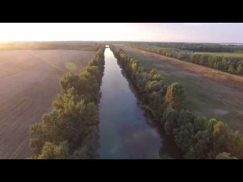Nature Flight Over Hungary