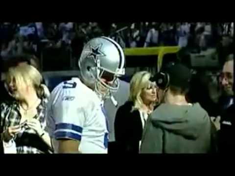 Eminem  at Cowboy stadium